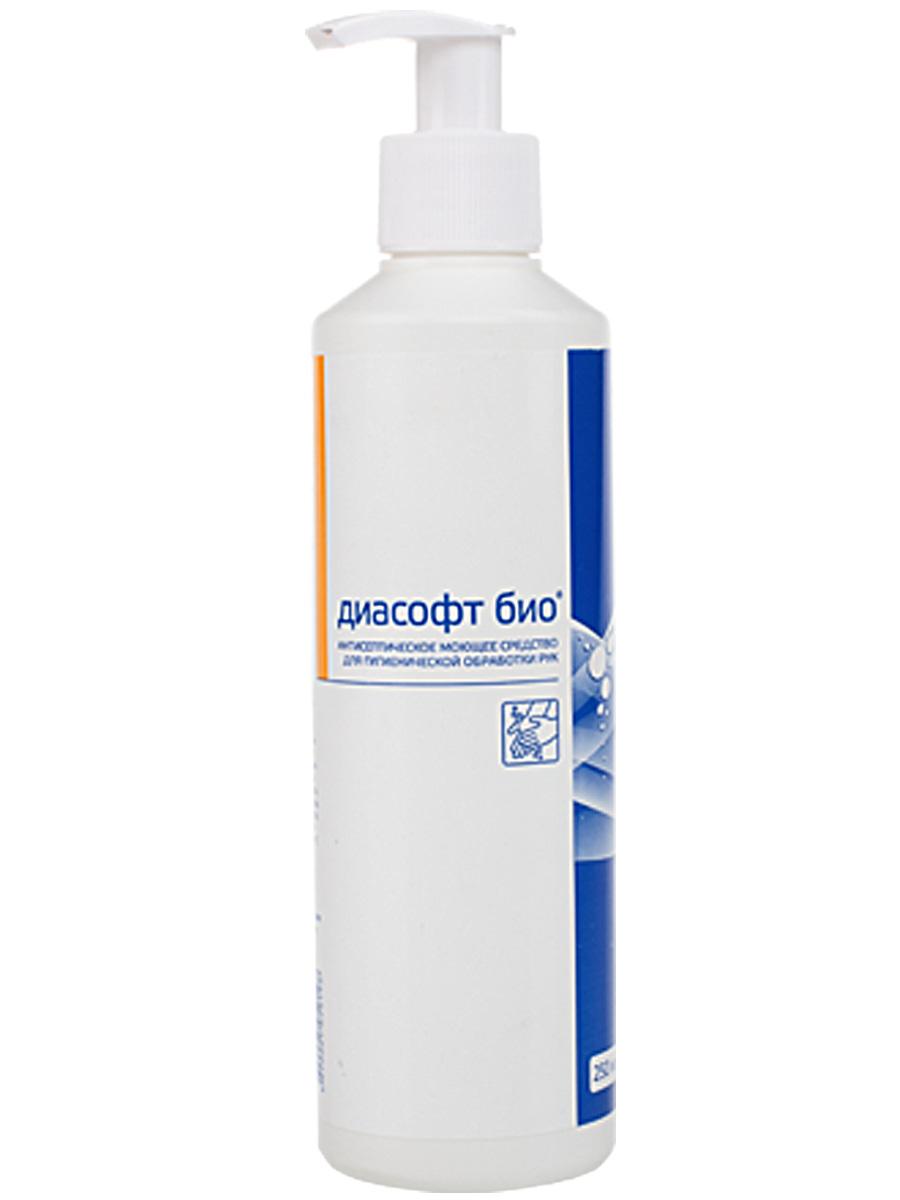 Антибактериальное жидкое мыло Диасофт био, 250 мл ИНТЕРСЭН-ПЛЮС