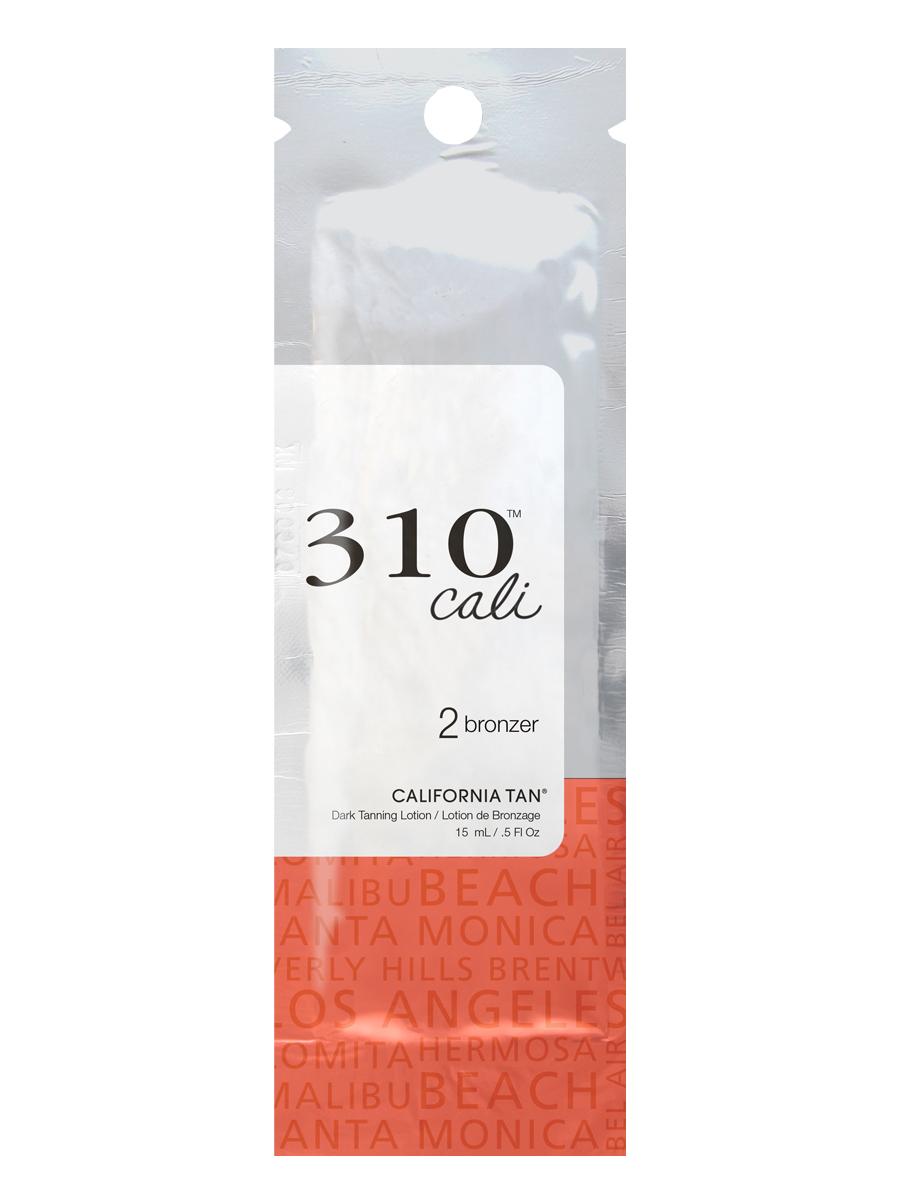 California Tan Крем для загара в солярии 310 Cali Bronzer Step 2, 15 млCT1199Крем для загара с натуральными бронзаторами. Шаг 2.Описание:Отлично подойдет для светлой и загорелой кожи. В результате применения придает загару красивый оттенок. Экстракт ванили и экстракт кокоса защищают кожу от фотостарения. Уникальная гелевая основа отлично увлажняет кожу.