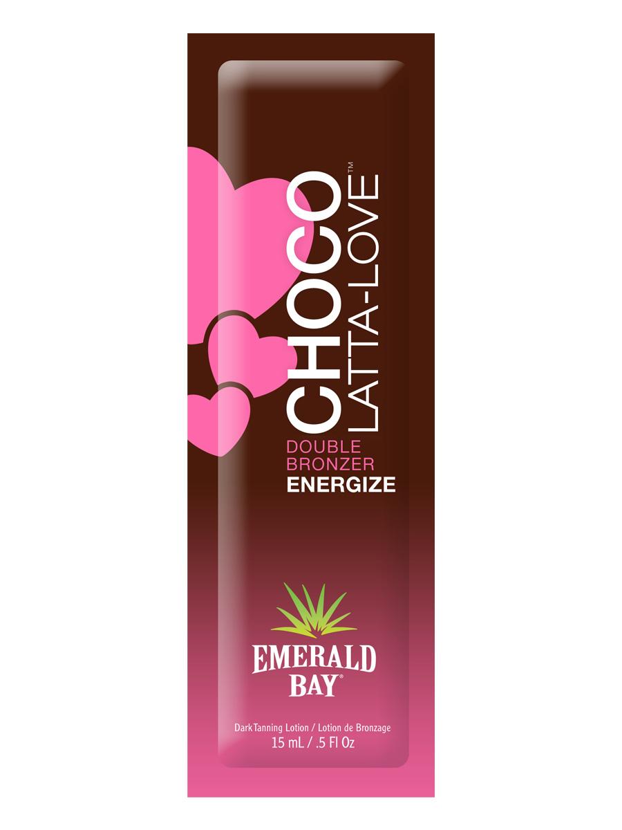 Emerald BayКрем для загара в солярии Choco-Latta-Love, 15 мл Emerald Bay