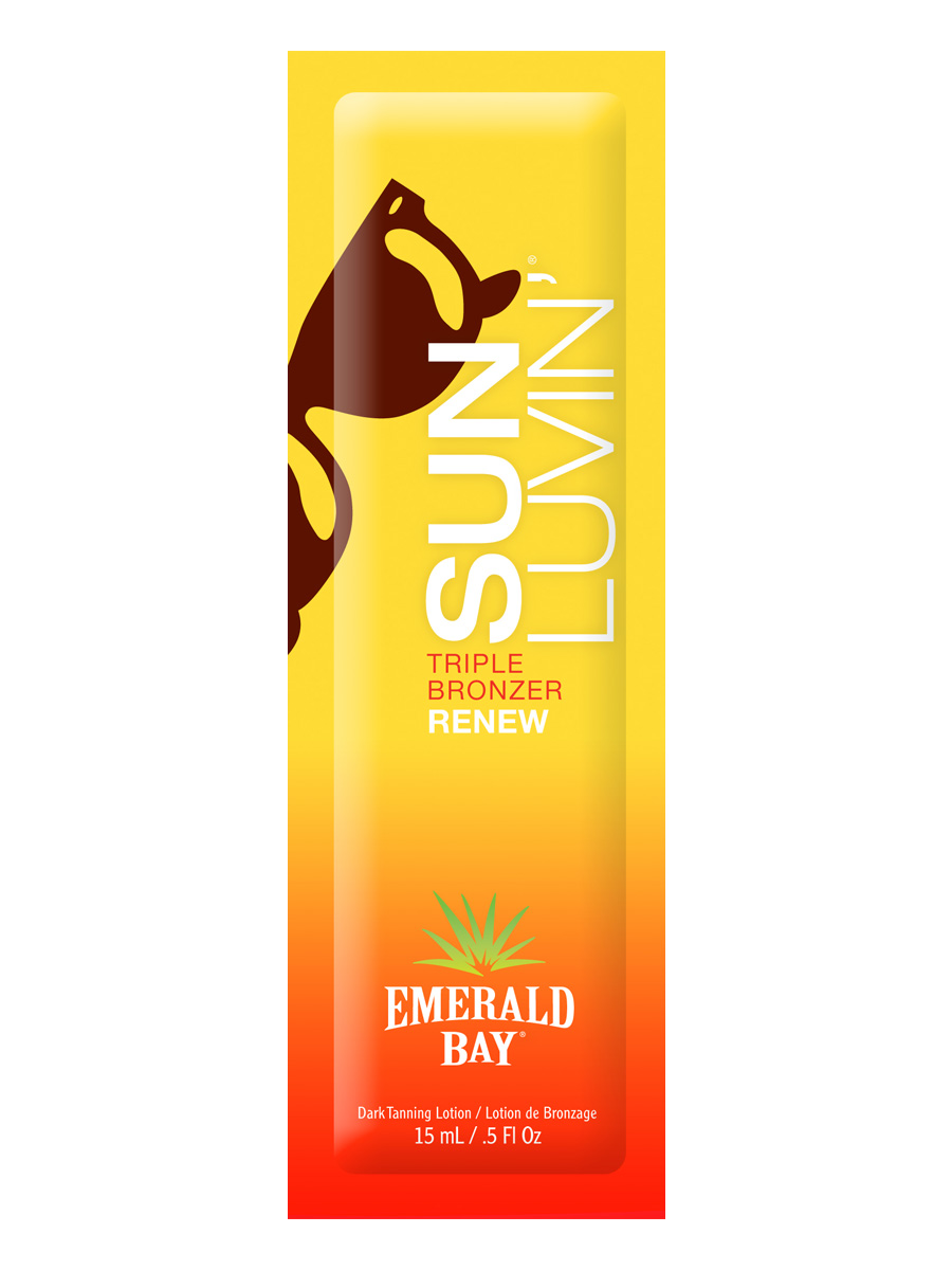 Emerald Bay Крем для загара в солярии Sun Luvin Triple Shot Bronzer, 15 мл