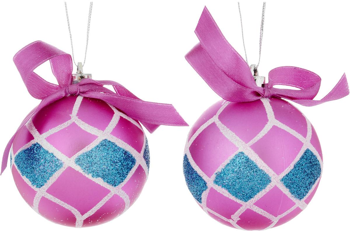Украшение новогоднее подвесное House & Holder, диамтер 6 см, 2 штDP-C30-003Набор новогодних подвесных украшений House & Holder выполнен из пластмассы. С помощью специальной петельки украшения можно повесить в любом понравившемся вам месте. Но, конечно, удачнее всего оно будет смотреться на праздничной елке.Елочная игрушка - символ Нового года. Она несет в себе волшебство и красоту праздника. Создайте в своем доме атмосферу веселья и радости, украшая новогоднюю елку нарядными игрушками, которые будут из года в год накапливать теплоту воспоминаний.Диаметр: 6 см.Комплектация: 2 шт.