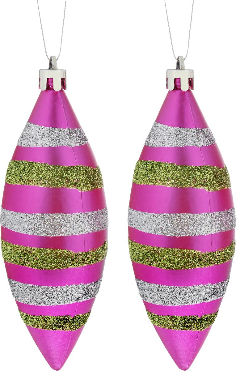 Украшение новогоднее подвесное House & Holder Сосульки, 2 штDP-C30-002Набор новогодних подвесных украшений House &Holder Сосульки выполнен из пластмассы. Спомощью специальной петельки украшения можноповесить влюбом понравившемся вамместе. Но, конечно, удачнее всего оно будетсмотреться на праздничной елке.Елочная игрушка - символ Нового года. Она несет всебе волшебство и красотупраздника. Создайте в своем доме атмосферувеселья и радости, украшаяновогоднюю елку нарядными игрушками, которыебудут из года в год накапливатьтеплоту воспоминаний. Размер: 4 х 4 х 15 см. Комплектация: 2 шт.