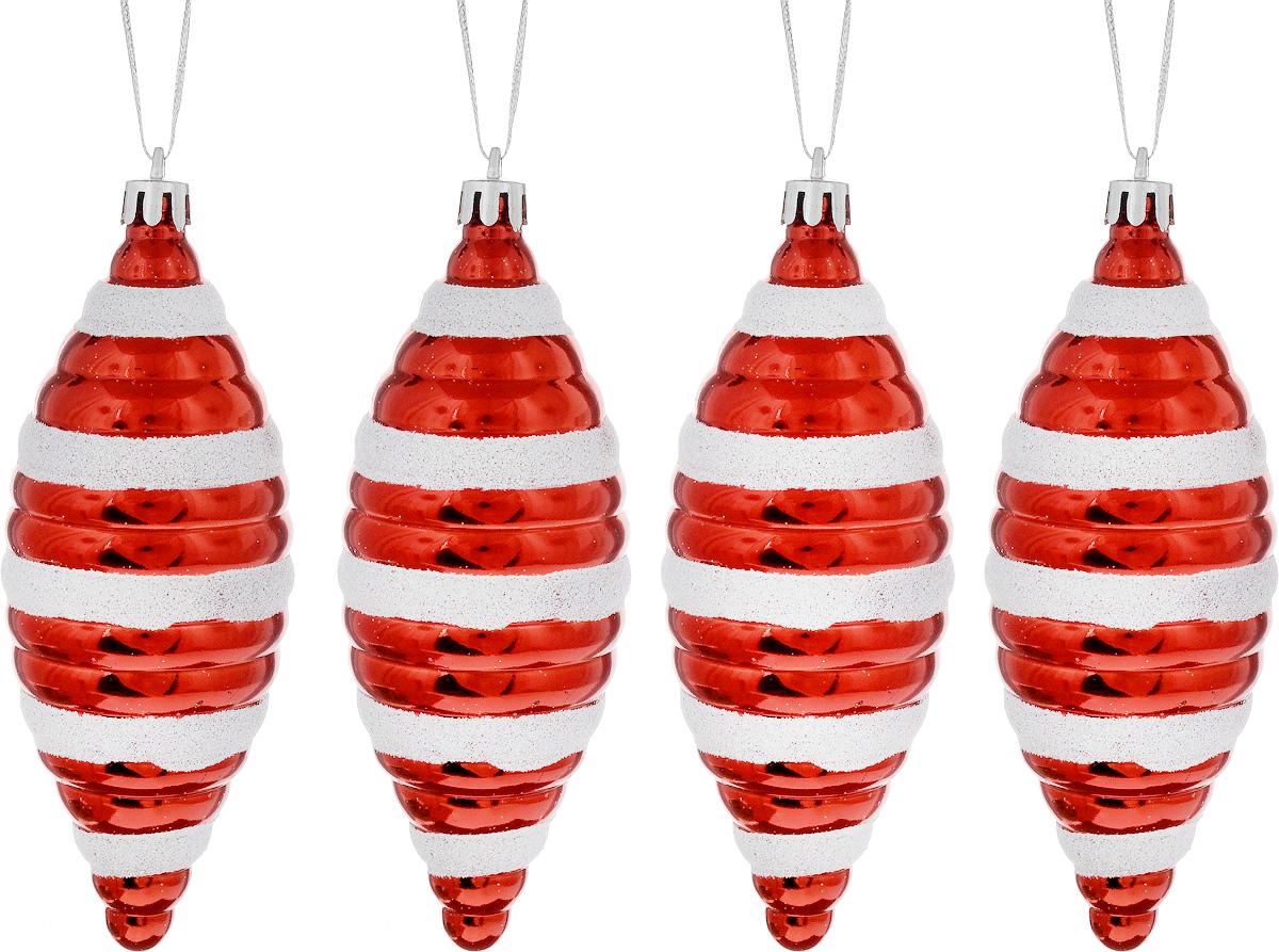 Набор новогодних подвесных украшений House & Holder Сосульки, 4 штDP-C30-027Набор подвесных украшений House & Holder Сосульки прекрасно подойдет для праздничного декора новогодней ели. Набор состоит из 4 пластиковых украшений в виде сосульки. Для удобного размещения на елке для каждого украшения предусмотрено петелька. Елочная игрушка - символ Нового года. Она несет в себе волшебство и красоту праздника. Создайте в своем доме атмосферу веселья и радости, украшая новогоднюю елку нарядными игрушками, которые будут из года в год накапливать теплоту воспоминаний. Откройте для себя удивительный мир сказок и грез. Почувствуйте волшебные минуты ожидания праздника, создайте новогоднее настроение вашим дорогим и близким.