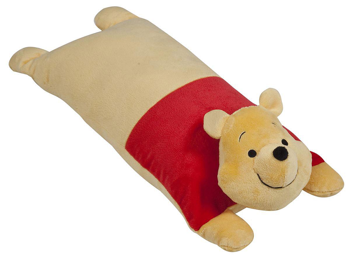 Disney Подушка детская Винни Пух15547Детская декоративная подушка Винни Пухможет использоваться в качестве элемента декора в вашем доме, ну и кроме того, быть настоящей игрушкой для вашего малыша.Данная текстильная продукция занимает высокие позиции на потребительском рынке благодаря своим оригинальным дизайнам и безопасным материалам.