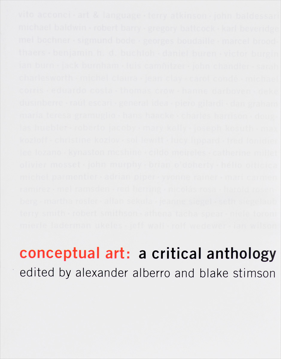 Conceptual Art: A Critical Anthology