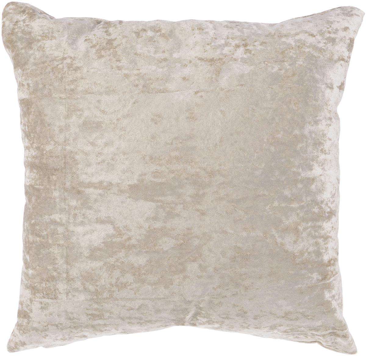 Подушка декоративная KauffOrt Бархат, цвет: серый, 40 x 40 см3121039660Декоративная подушка Бархат прекрасно дополнит интерьер спальни или гостиной. Бархатистый на ощупь чехол подушки выполнен из 49% вискозы, 42% хлопка и 9% полиэстера. Внутри находится мягкий наполнитель. Чехол легко снимается благодаря потайной молнии.Красивая подушка создаст атмосферу уюта и комфорта в спальне и станет прекрасным элементом декора.