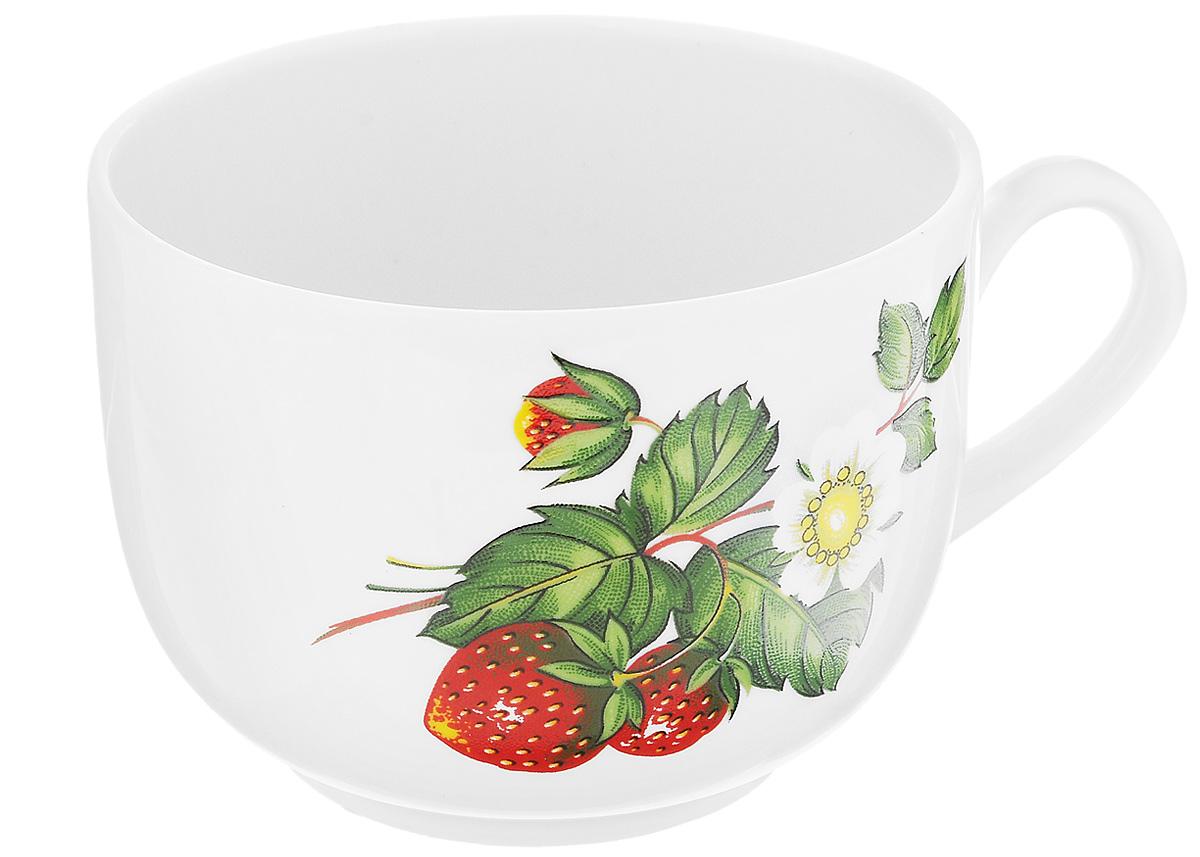 Чашка чайная Фарфор Вербилок Август. Цветущая земляника, 300 мл. 747149747149Чайная чашка Фарфор Вербилок Август. Цветущая земляника способна скрасить любое чаепитие. Изделие выполнено из высококачественного фарфора. Посуда из такого материала позволяет сохранить истинный вкус напитка, а также помогает ему дольше оставаться теплым.Диаметр по верхнему краю: 8,5 см.Высота чашки: 6,5 см.