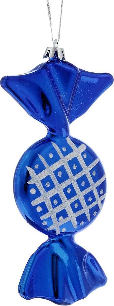 Украшение новогоднее подвесное House & Holder Конфета, высота 16 смDP-C30-073Новогоднее подвесное украшение House & Holder Конфета выполнено из пластмассы. С помощью специальной петельки украшение можно повесить в любом понравившемся вам месте. Но, конечно, удачнее всего оно будет смотреться на праздничной елке.Елочная игрушка - символ Нового года. Она несет в себе волшебство и красоту праздника. Создайте в своем доме атмосферу веселья и радости, украшая новогоднюю елку нарядными игрушками, которые будут из года в год накапливать теплоту воспоминаний.Размер: 7 х 1,5 х 16 см.