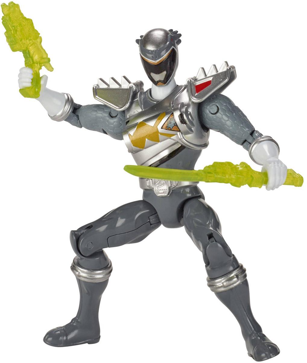Power Rangers Фигурка Dino Drive Graphite Ranger jada могучие рейнджеры фигурка black ranger