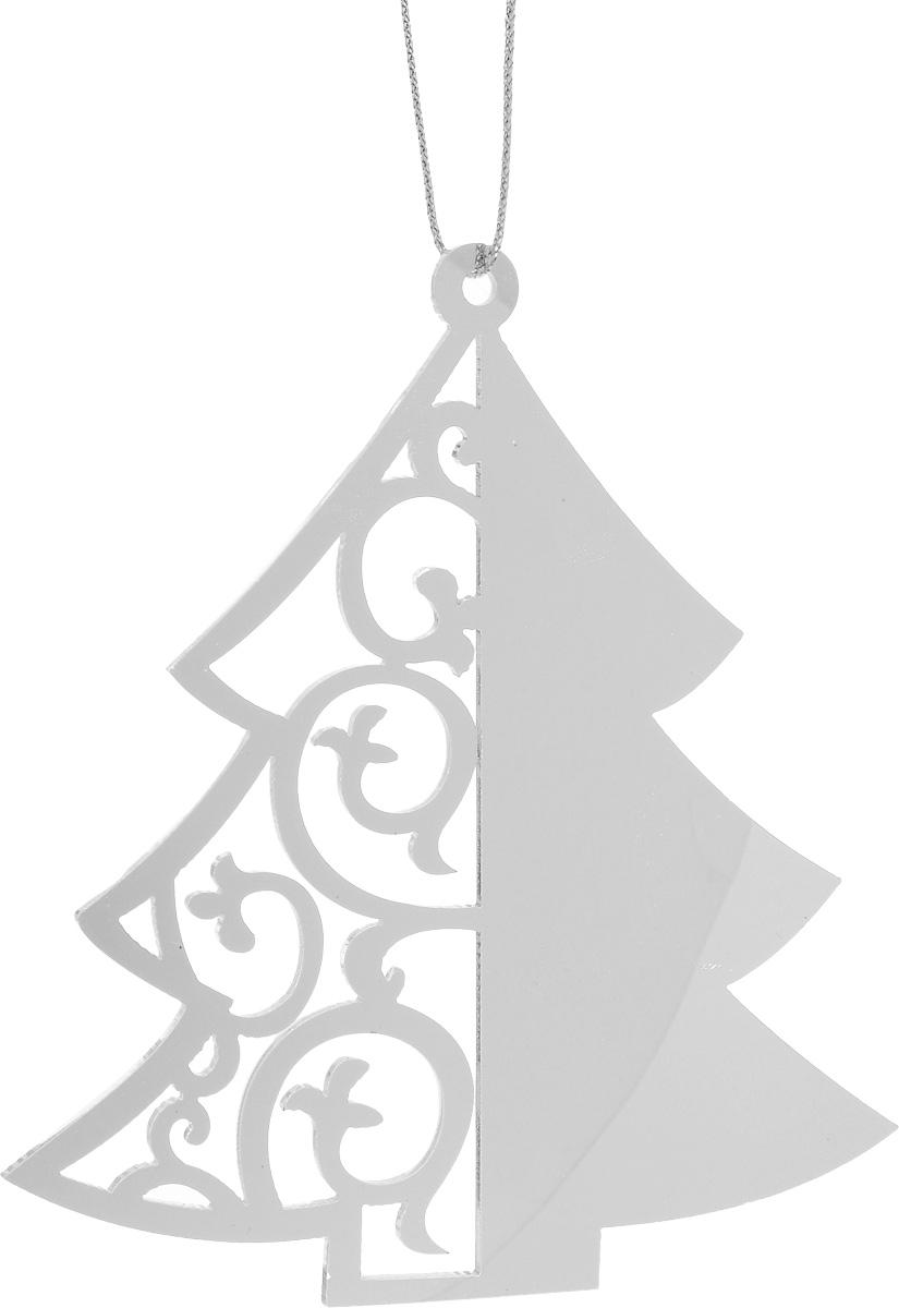 Украшение новогоднее подвесное House & Holder Елка, 9 х 9,8 см70299Новогоднее подвесное украшение House & Holder Елка выполнено из пластмассы. С помощью специальной петельки украшение можно повесить в любом понравившемся вам месте. Но, конечно, удачнее всего оно будет смотреться на праздничной елке.Елочная игрушка - символ Нового года. Она несет в себе волшебство и красоту праздника. Создайте в своем доме атмосферу веселья и радости, украшая новогоднюю елку нарядными игрушками, которые будут из года в год накапливать теплоту воспоминаний.Размер: 9 х 9,8 см.