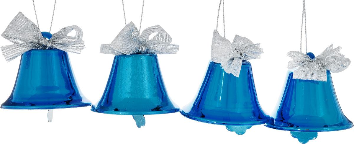 Набор новогодних подвесных украшений House & Holder Колокольчики, 4 штDP-C30-049Набор подвесных украшений House & Holder Колокольчики прекрасно подойдет для праздничного декора новогодней ели. Набор состоит из 4 металлических украшений в виде колокольчиков. Для удобного размещения на елке для каждого украшения предусмотрено петелька. Елочная игрушка - символ Нового года. Она несет в себе волшебство и красоту праздника. Создайте в своем доме атмосферу веселья и радости, украшая новогоднюю елку нарядными игрушками, которые будут из года в год накапливать теплоту воспоминаний. Откройте для себя удивительный мир сказок и грез. Почувствуйте волшебные минуты ожидания праздника, создайте новогоднее настроение вашим дорогим и близким.Размер: 5,5 х 5,5 х 5 см.