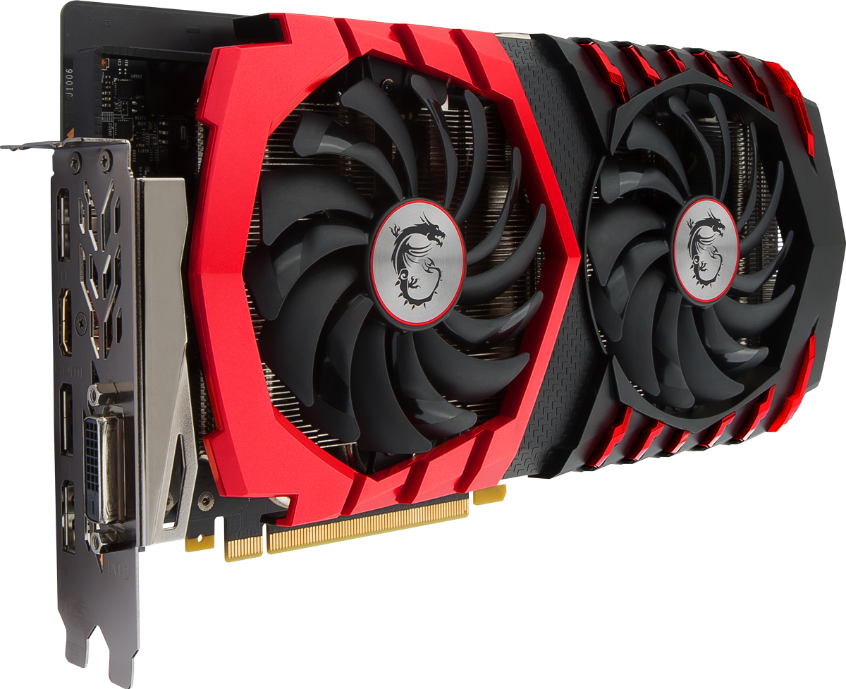 MSI GeForce GTX 1060 Gaming X 3GB видеокарта