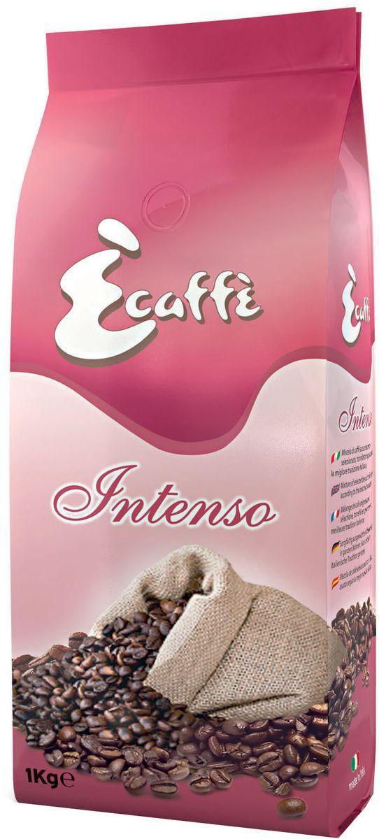 Caffitaly Ecaffe Intenso кофе в зернах, 1 кг (с клапаном дегазации) кофе ecaffe caffitaly кофе в капсулах prezioso