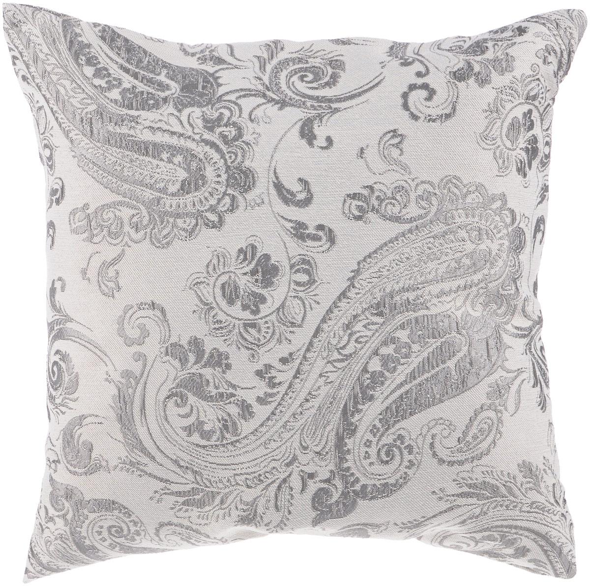 """Декоративная подушка """"Аладора"""" прекрасно дополнит интерьер спальни или гостиной. Мягкий на ощупь чехол подушки выполнен из прочного полиэстера. Внутри находится мягкий наполнитель. Чехол легко снимается благодаря потайной молнии. Красивая подушка создаст атмосферу уюта и комфорта в спальне и станет прекрасным элементом декора."""