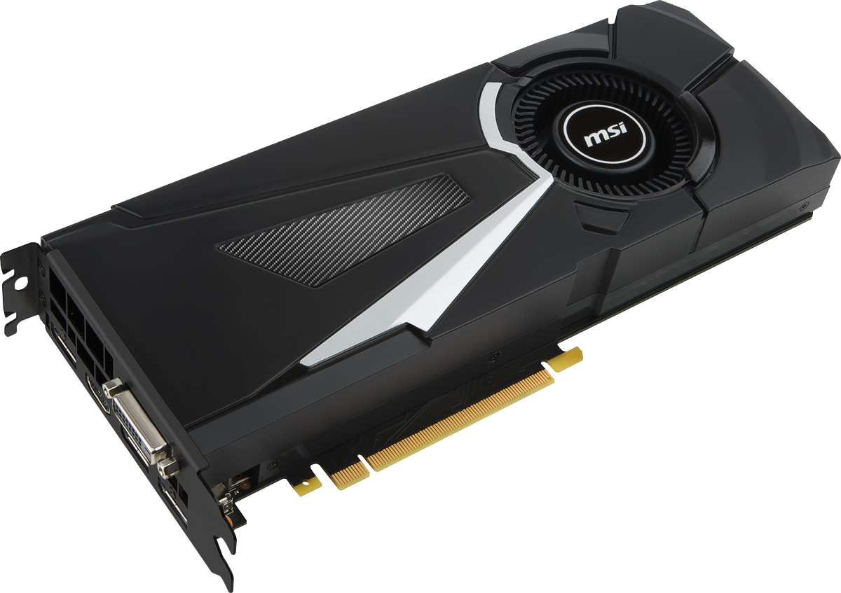 MSI GeForce GTX 1070 Aero 8GB видеокарта