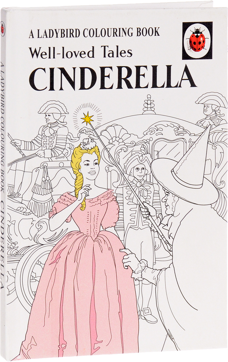 Well-Loved Tales: Cinderella: A Ladybird Colouring Book the twenty three