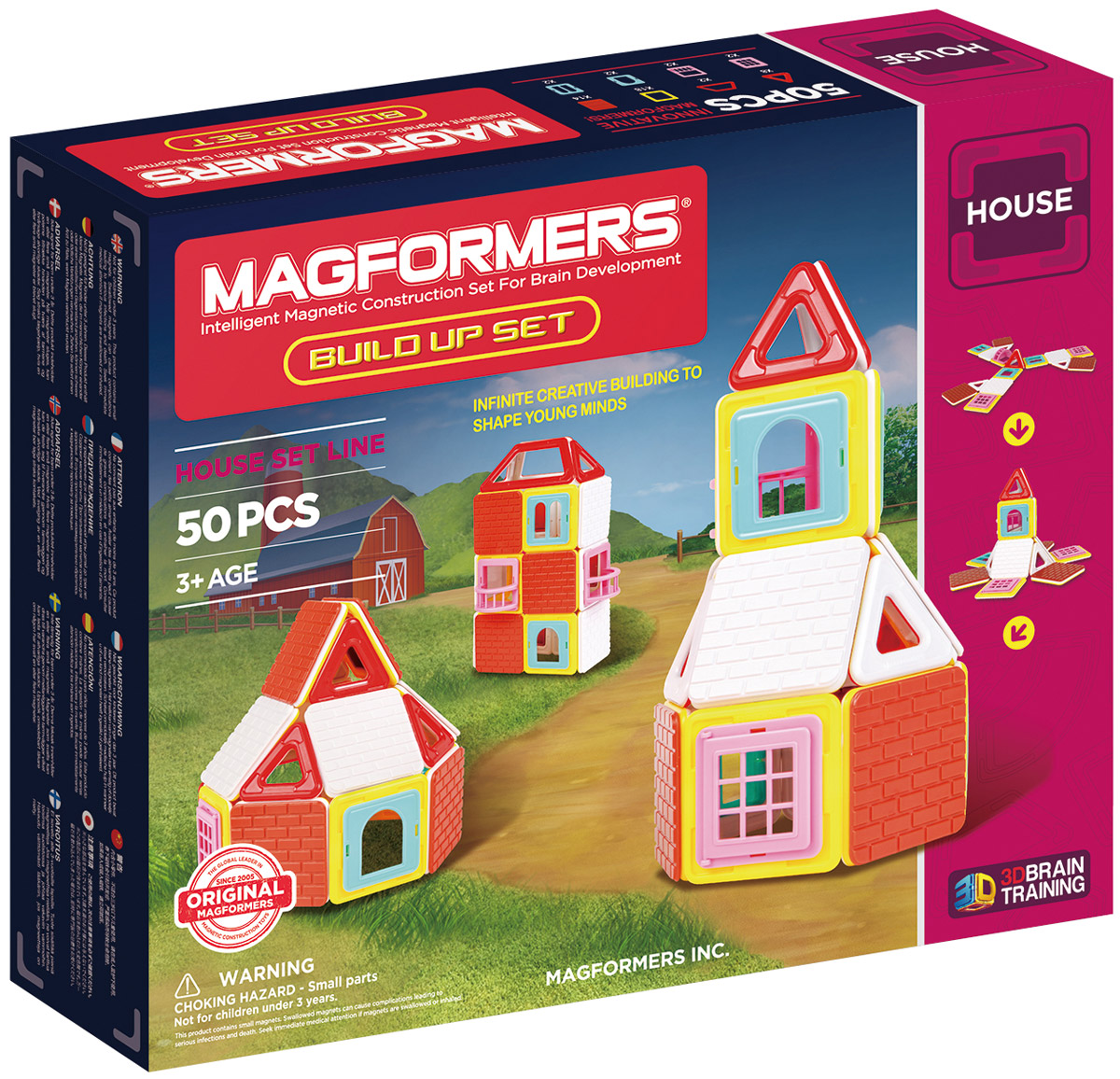 Magformers Магнитный конструктор Build Up Set magformers build up set