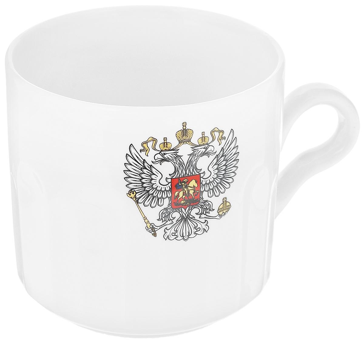 Кружка Фарфор Вербилок Герб, 500 мл кружка фарфор вербилок герб 250 мл