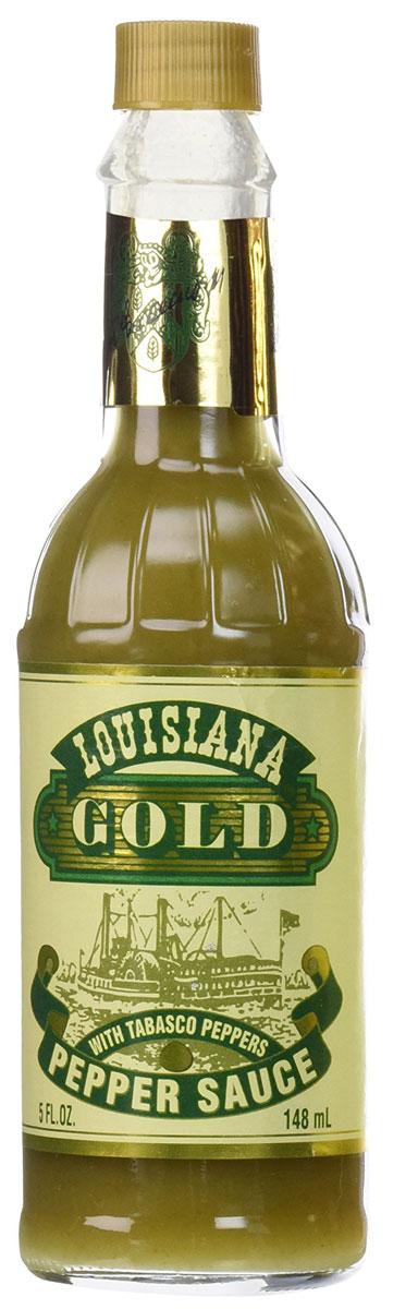 Louisiana Gold соус зеленый перечный, 148 мл2361Louisiana Gold - острый зеленый перечный соус, лучшая приправа к блюдам из мяса, птицы, морепродуктов. Может использоваться как ингредиент для приготовления, маринад.