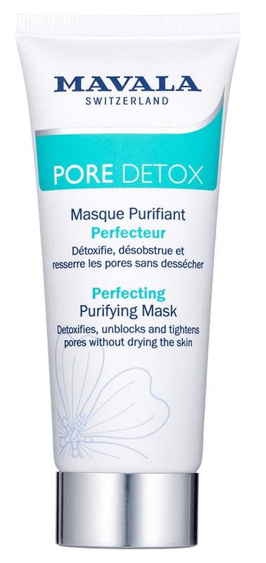 Mavala Очищающая Детокс-Маска Pore Detox Perfecting Purifying Mask 65 мл флюид для лица mavala pore detox perfecting hydra matt fluid 45 мл матирующий