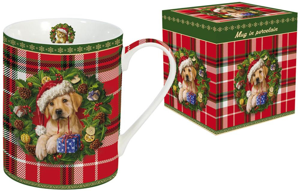 Кружка Nuova R2S Рождественский щенок, 300 мл r2s