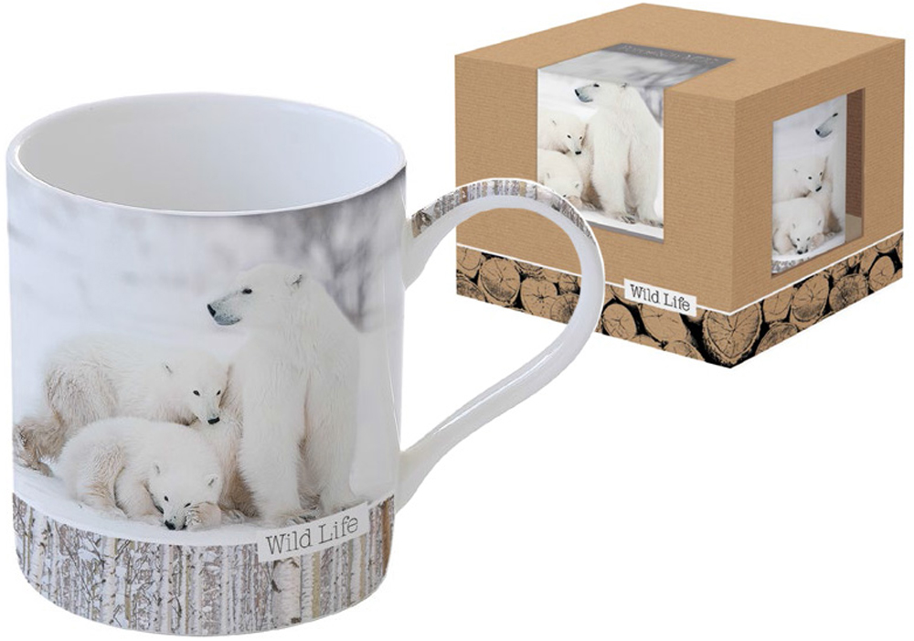Кружка Nuova R2S Белые медведи, 400 млR2S-R0282/WLWB-ALКонцепция выпускаемой продукции заключается в создании единой дизайнерской линии предметов сервировки стола, оформления интерьера кухни или столовой комнаты. Вся продукция производится из современных и экологически чистых материалов: фарфора, стекла, пластика и дерева.Продукция компании NUOVA R2S отличается современным дизайном, и легкостью в эксплуатации. Компания работает в тесном сотрудничестве с лучшими итальянскими художниками и дизайнерами. Фарфор. Мыть теплой водой с применением ЖМС. Можно использовать в СВЧ и посудомоечной машине.