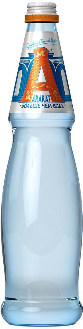 Ararat вода газированная минеральная лечебно-столовая, 0,5 л4850006310018Минеральная природная питьевая лечебно-столовая газированная поможет привести в норму водно-минеральный обмен организма, стимулирует систему пищеварения, благодаря сбалансированному природному минеральному составу.