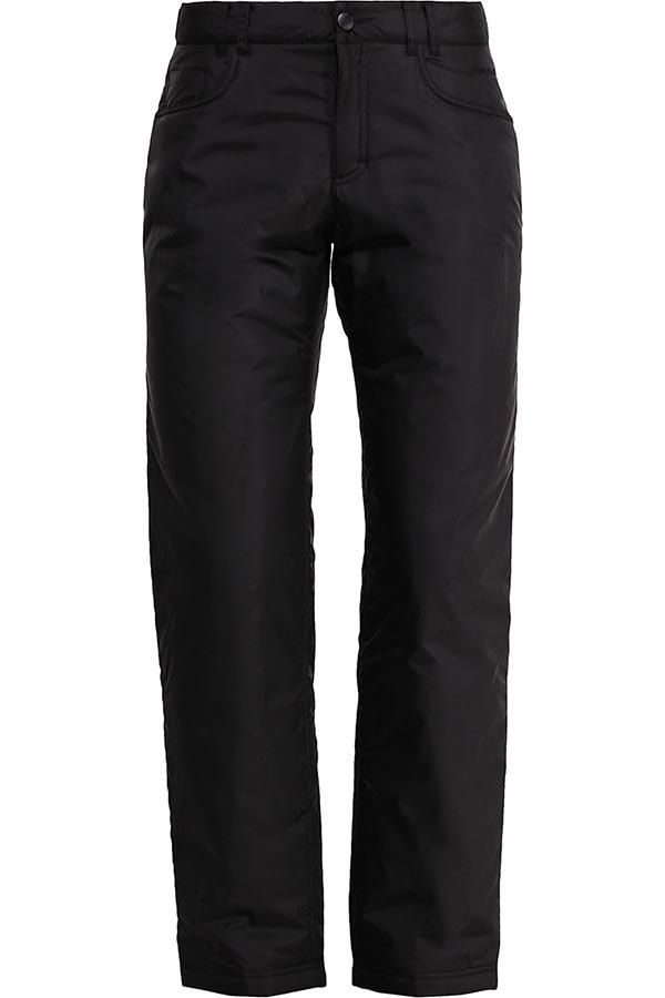 Брюки мужские Finn Flare, цвет: черный. W16-22016_200. Размер M (48)W16-22016_200Утепленные мужские брюки Finn Flare, выполненные из 100% полиэстер. В качестве утеплителя используется полиэстер. Брюки классического кроя и средней посадки застегиваются на пуговицу в поясе и ширинку на молнии, имеются шлевки для ремня. Спереди модель оформлена двумя карманами с косыми срезами и одним маленьким накладным кармашком, а сзади - двумя накладными карманами. Талия брюк регулируется при помощи хлястика с липучками и кнопками.