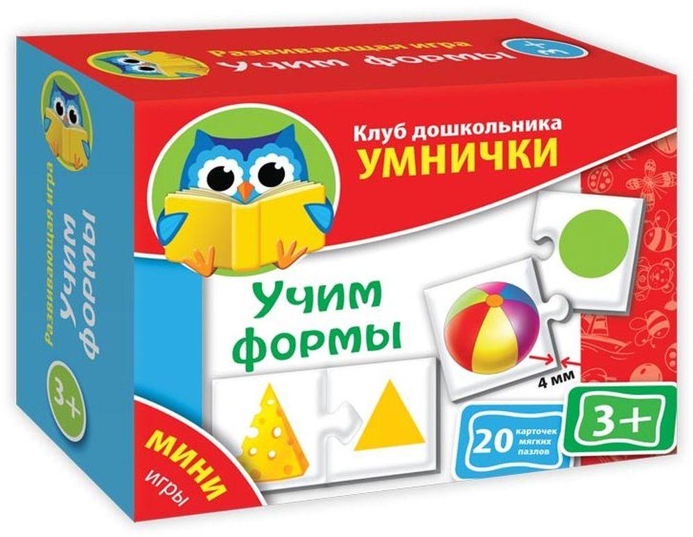 Vladi Toys КД Умнички Мини-игры Учим формы пазл vladi toys умнички учим формы vt1309 01