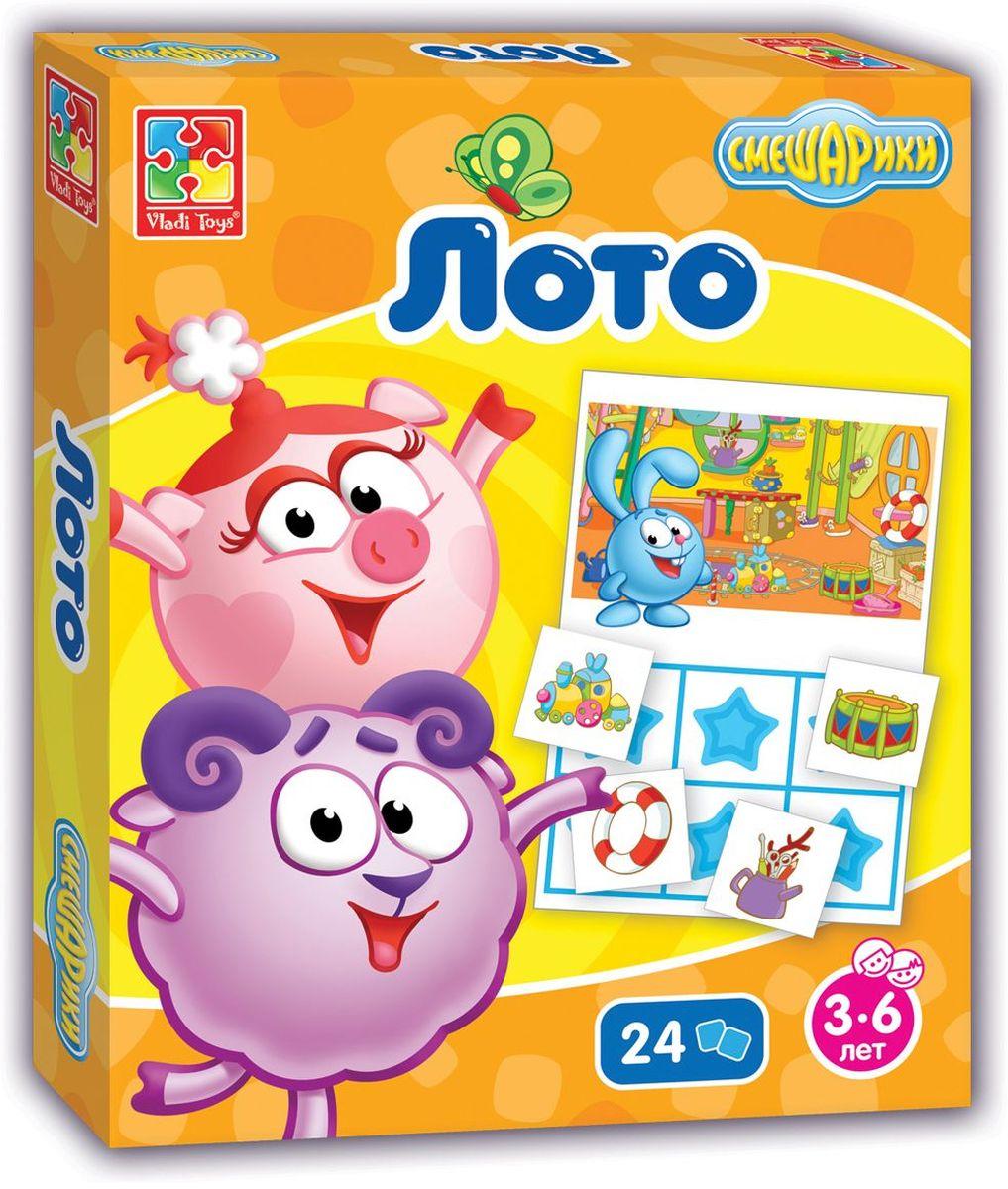 Vladi Toys Игра настольная Смешарики Лото