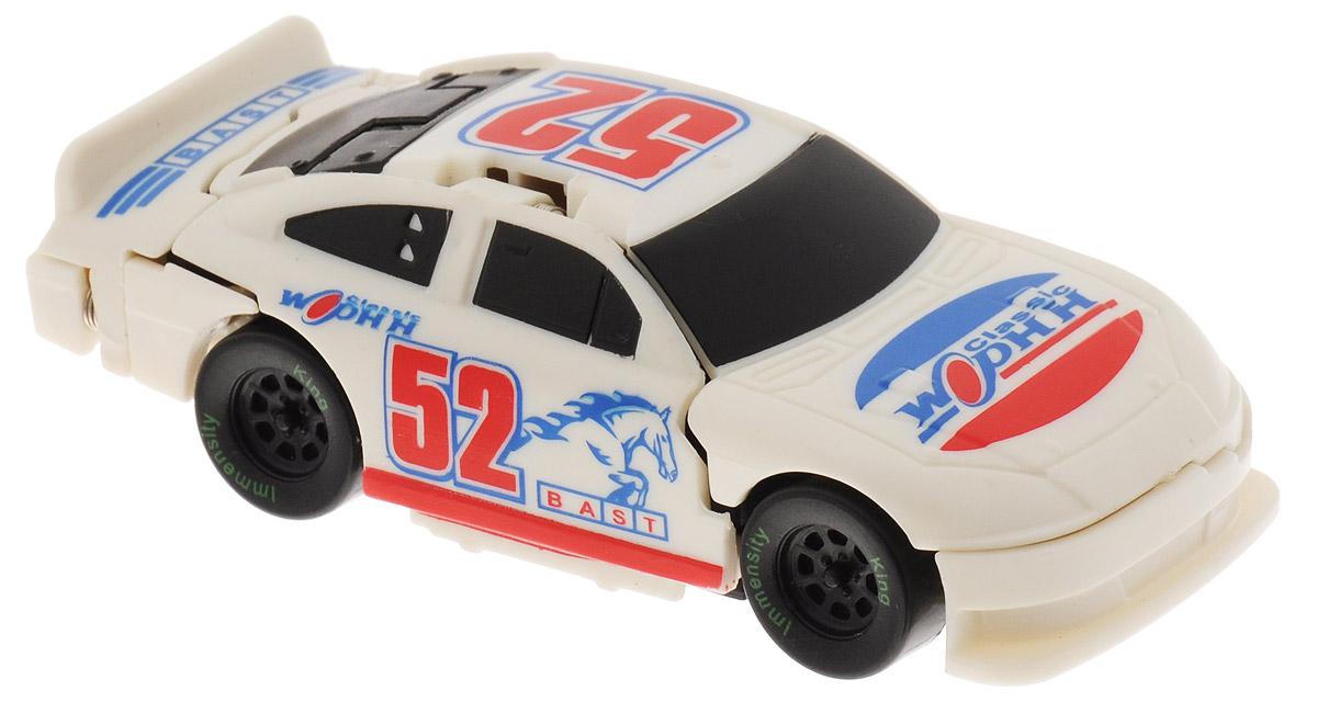 Big Motors Машинка Краш-тест цвет белый big игрушки