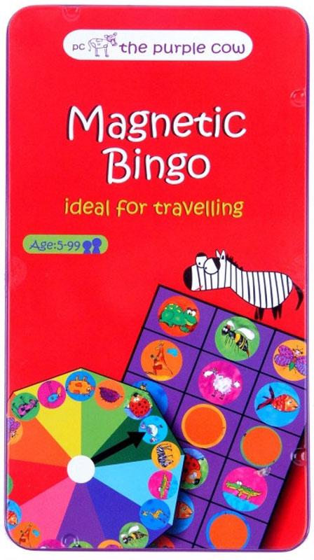 The Purple Cow Обучающая игра Magnetic Bingo the purple cow пазл белоснежка the purple cow