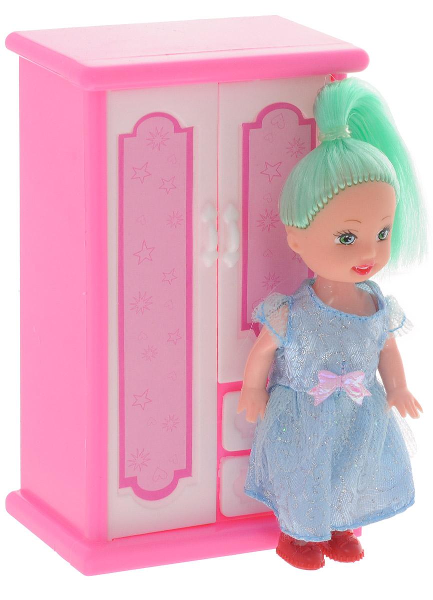 Shantou Мини-кукла Bettina со шкафом