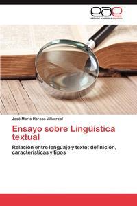 Ensayo Sobre Linguistica Textual