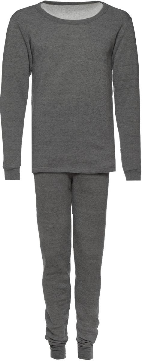 Термобелье мужское FM: свитшот, брюки, цвет: серый. 025. Размер M (46/48)025Мужское термобелье, состоящее из свитшота и брюк, используется для повседневной носки в прохладную погоду. Дышащее белье надевается на голое тело. Белье изготовлено из 100% полиэстера. Свитшот с круглым вырезом горловины и длинными рукавами. Рукава дополнены широкими трикотажными манжетами. Брюки на талии имеют широкий эластичный пояс. Низ брючин дополнен широкими эластичными манжетами.