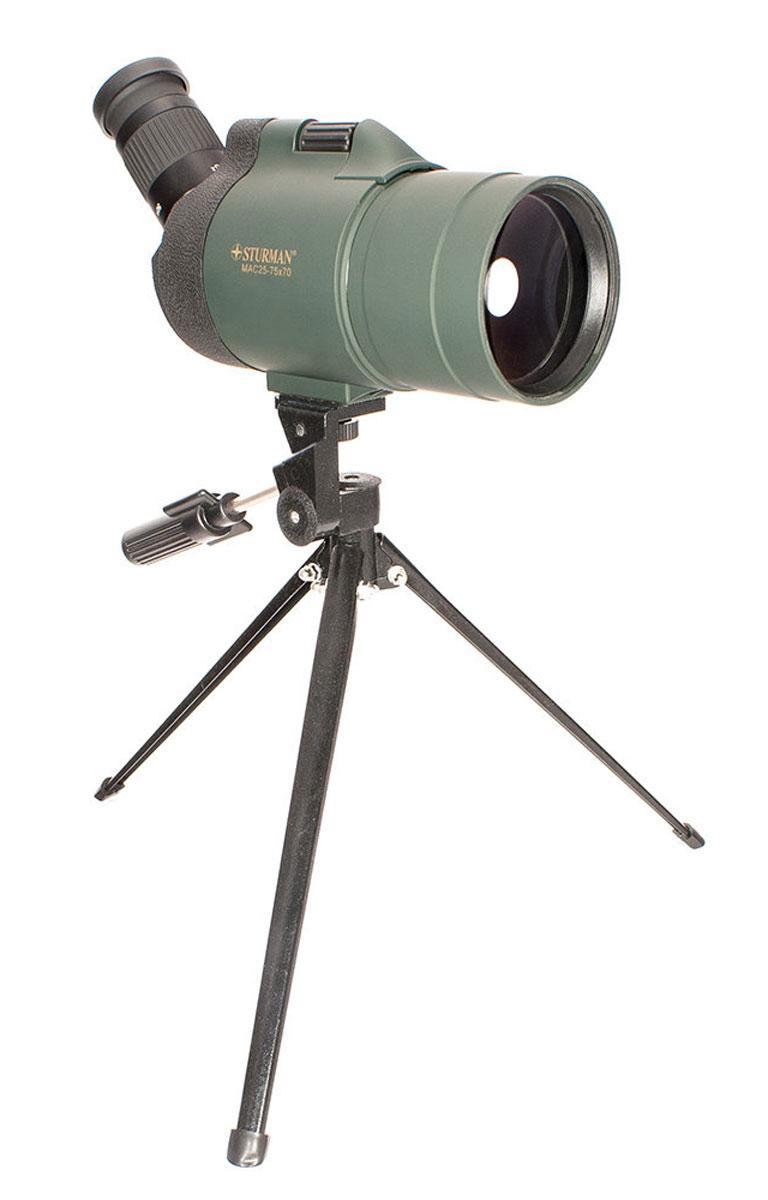 Sturman 25-75х70, Black Green зрительная труба - Зрительные трубы