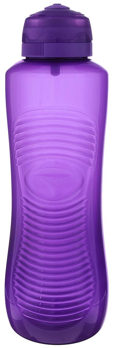Бутылка для воды Sistema Twist n Sip, цвет: фиолетовый, 800 мл850_фиолетовыйСтильная бутылка для воды Sistema Twist n Sip, изготовленная из пластика, оснащена крышкой, которая плотно и герметично закрывается. Широкое отверстие позволяет удобно наливать жидкость и добавлять лед. Бутылка оснащена просто открывающимся и, в то же время, надежным защитным клапаном. Подходит для велосипедных держателей.