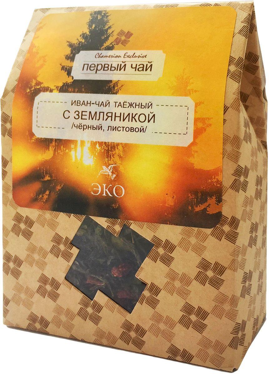 Первый чай Иван-чай листовой таежный с земляникой, 50 г в какой аптеке г горловка донецкая обл можно купить иван чай
