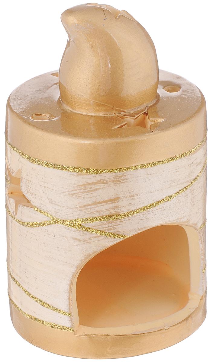 Подсвечник House & Holder, высота 12,5 смDHS12245-2WПодсвечник House & Holder выполнен из керамики иукрашен блестками. В подсвечнике имеется специальноеместо для чайной свечки. Изделие будет прекрасносмотреться на праздничном столе.Новогодние украшения несут в себе волшебство и красотупраздника. Они помогут вам украсить дом к предстоящимпраздникам и оживить интерьер по вашему вкусу.Создайте в доме атмосферу тепла, веселья и радости,украшая его всей семьей.