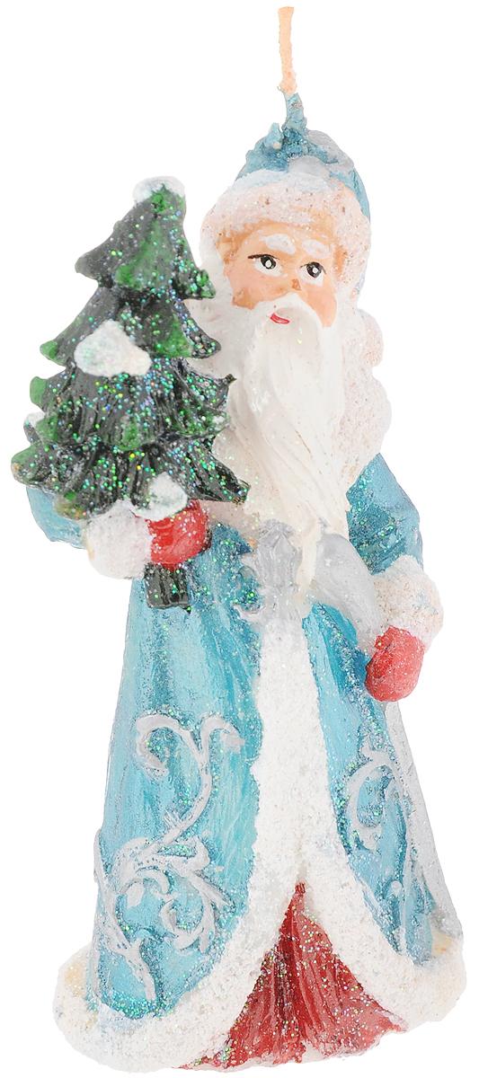 Свеча декоративная House & Holder Дед Мороз, высота 12 смDP-B84-3138Свеча House & Holder Дед Мороз, изготовленная изпарафина, станет прекрасным украшением интерьерапомещения в преддверии Нового года. Изделие украшеносверкающими блестками.Такая свеча создаст атмосферу таинственности изагадочности и наполнит ваш дом волшебством иощущением праздника. Хороший сувенир для друзей иблизких.