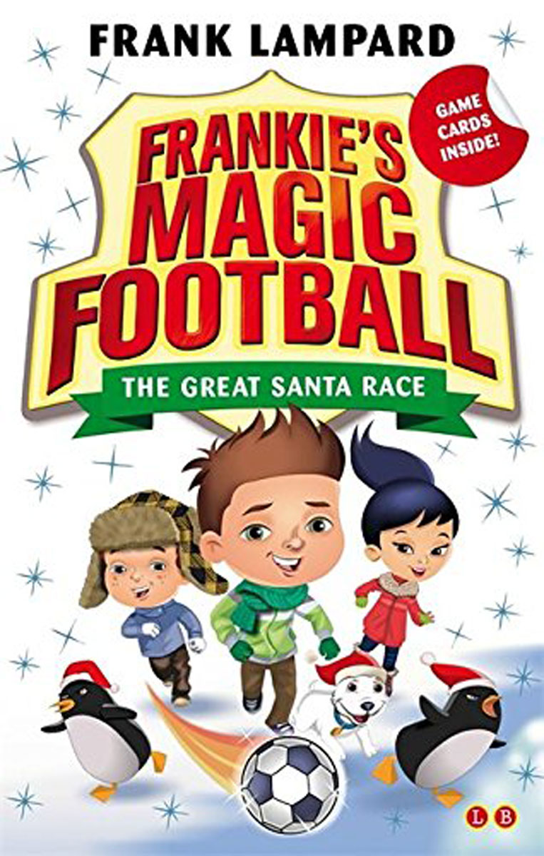 Frankie's Magic Football: Book 13: The Great Santa Race penguin ice breaking save the penguin great family toys gifts desktop game fun game who make the penguin fall off lose this game