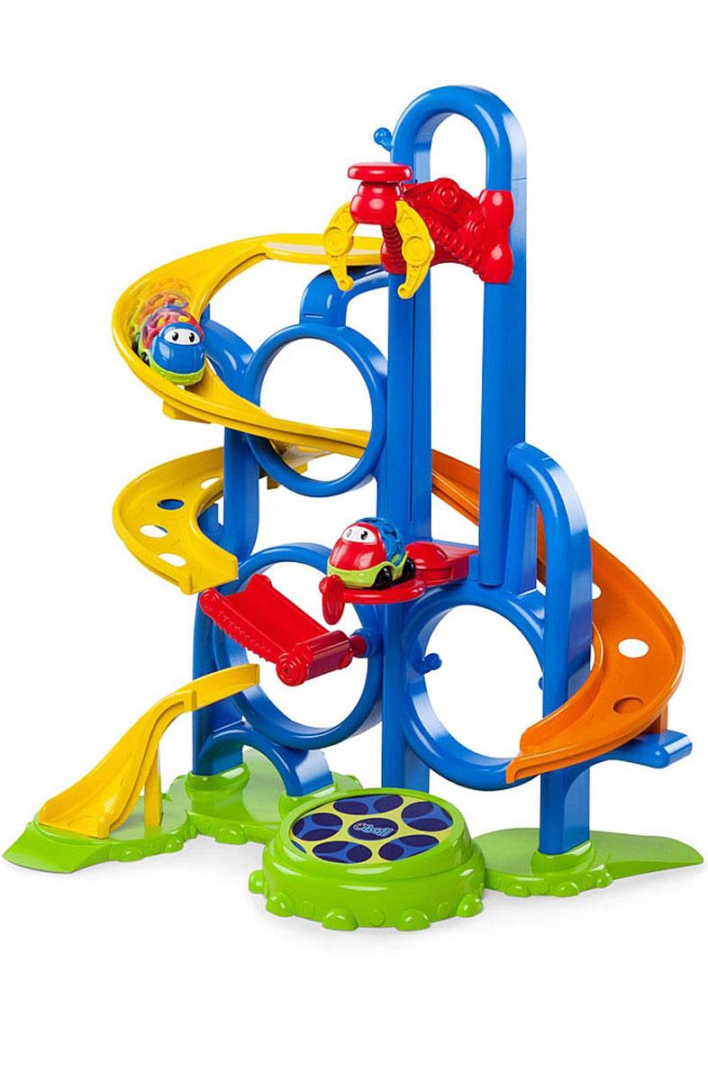 Oball Игрушечный трек motormax игрушечный трек мини заправочная станция