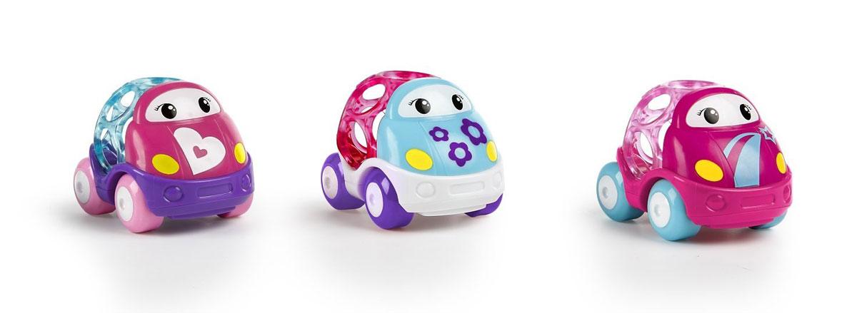 Oball Набор машинок Только вперед! 3 шт головоломки oball развивающая игрушка на присоске oball