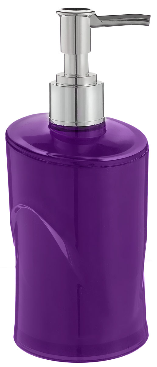 Дозатор для жидкого мыла Indecor, цвет: фиолетовый, серый, 300 млIND026pДозатор для жидкого мыла Indecor, изготовленный из пластика, отлично подойдет для вашей ванной комнаты. Такой аксессуар очень удобен в использовании, достаточно лишь перелить жидкое мыло в дозатор, а когда необходимо использование мыла, легким нажатием выдавить нужное количество. Дозатор для жидкого мыла Indecor создаст особую атмосферу уюта и максимального комфорта в ванной.Размер дозатора: 7 х 7 х 16,5 см.Объем дозатора: 300 мл.