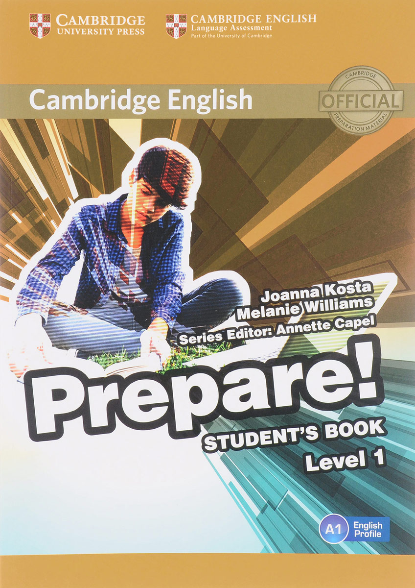 Cambridge English Prepare! Level 1 A1: Student's Book cambridge global english 1 activity book