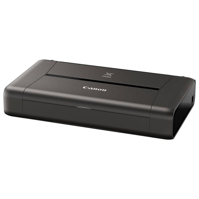Canon Pixma IP-110 w/b принтер9596B029Подключайтесь и печатайте «на ходу» с компактным портативным принтером Canon IP-110. Этот легкий принтер легко помещается в сумке и позволит вам получить превосходные результаты при печати непосредственно с мобильных устройств и из облачных ресурсов.Идеальная портативная печать:Подключайтесь и печатайте на ходу. Куда бы вы ни отправились, этот легкий и стильный принтер пригодится в дороге и позволит быстро напечатать изображения со смартфонов, планшетов и из облачных ресурсов благодаря расширенным возможностям подключения Wi-Fi.Подключение к облачным ресурсам:Печатайте напрямую из облачных ресурсов. Наслаждайтесь свободой печати из Интернета где бы вы ни находились, для этого нужен всего лишь смартфон или планшет. Благодаря улучшенному приложению PIXMA Cloud Link вы можете печатать офисные документы, файлы PDF и JPG непосредственно из облачных ресурсов — Dropbox, Google Drive, OneDrive и Evernote. Также вы можете печатать фотографии из Facebook, Твиттера и онлайн-альбомов за считанные секунды и без использования компьютера.Поддержка смартфонов и планшетов:Ваш смартфон всегда у вас под рукой, а с ним — и принтер. Просто загрузите приложение PIXMA Printing Solutions от Canon на смартфон или планшет. С помощью этого приложения вы сможете получать доступ к облачным ресурсам. Вы даже сможете в режиме реального времени проверить статус принтера, уровень чернил или обратиться к руководству пользователя через Wi-Fi или Интернет. Дополняет возможности подключения мобильных устройств поддержка приложений Apple AirPrint и Google Cloud Print.Исключительное качество:Поразительное качество печати «на ходу». Печатайте документы профессионального качества с высокой четкостью текста и фотографии с богатой передачей контрастности цвета и разрешением до 9 600 точек на дюйм благодаря технологии Canon FINE с улучшенной системой с 5 чернилами. Печать — это быстро. Наслаждайтесь скоростью печати 9,0 изобр./мин для монохромных и 5,8 изобр./мин для цвет