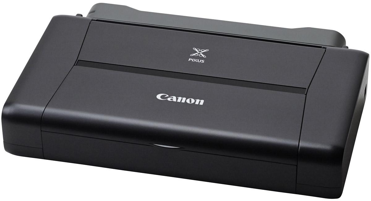 Canon Pixma IP-110 принтер9596B009Подключайтесь и печатайте «на ходу» с компактным портативным принтером Canon IP-110. Этот легкий принтер легко помещается в сумке и позволит вам получить превосходные результаты при печати непосредственно с мобильных устройств и из облачных ресурсов.Идеальная портативная печать:Подключайтесь и печатайте на ходу. Куда бы вы ни отправились, этот легкий и стильный принтер пригодится в дороге и позволит быстро напечатать изображения со смартфонов, планшетов и из облачных ресурсов благодаря расширенным возможностям подключения Wi-Fi.Подключение к облачным ресурсам:Печатайте напрямую из облачных ресурсов. Наслаждайтесь свободой печати из Интернета где бы вы ни находились, для этого нужен всего лишь смартфон или планшет. Благодаря улучшенному приложению PIXMA Cloud Link вы можете печатать офисные документы, файлы PDF и JPG непосредственно из облачных ресурсов - Dropbox, Google Drive, OneDrive и Evernote. Также вы можете печатать фотографии из Facebook, Твиттера и онлайн-альбомов за считанные секунды и без использования компьютера.Поддержка смартфонов и планшетов:Ваш смартфон всегда у вас под рукой, а с ним - и принтер. Просто загрузите приложение PIXMA Printing Solutions от Canon на смартфон или планшет. С помощью этого приложения вы сможете получать доступ к облачным ресурсам. Вы даже сможете в режиме реального времени проверить статус принтера, уровень чернил или обратиться к руководству пользователя через Wi-Fi или Интернет. Дополняет возможности подключения мобильных устройств поддержка приложений Apple AirPrint и Google Cloud Print.Исключительное качество:Поразительное качество печати «на ходу». Печатайте документы профессионального качества с высокой четкостью текста и фотографии с богатой передачей контрастности цвета и разрешением до 9 600 точек на дюйм благодаря технологии Canon FINE с улучшенной системой с 5 чернилами. Печать - это быстро. Наслаждайтесь скоростью печати 9,0 изобр./мин для монохромных и 5,8 изобр./мин для цветных 