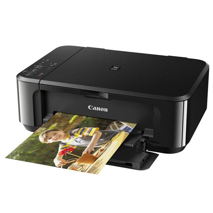 Canon Pixma MG3640, Black МФУ0515C007МФУ Canon Pixma MG3640 создано для тех, кто хочет с легкостью подключаться к мобильным устройствам и облачным ресурсам.С легкостью печатайте потрясающие фотографии с высокой детализацией без полей, а также документы с четким текстом профессионального качества — все благодаря системе картриджей Canon FINE и разрешению до 4800 точек на дюйм. Благодаря скорости печати документов ISO ESAT 9,9 изобр./мин в монохромном и 5,7 изобр./мин в цветном режиме вы получаете фотографию без полей размером 10x15 см за 44 секунду. С помощью улучшенного приложения PIXMA Cloud Link вы можете мгновенно распечатать фотографии из Facebook, Instagram или онлайн-альбомов; распечатать документы из таких облачных ресурсов, как Google Drive, OneDrive и Dropbox или отправить в них отсканированные изображения; вы даже можете отправлять отсканированные файлы/изображения электронной почтой — не используя ПК.Ваш смартфон всегда у вас под рукой, а с ним — и МФУ. Просто загрузите приложение Canon PRINT и получите возможность печатать и сканировать со смартфонов и планшетов, а также прямой доступ к облачным ресурсам. Встроенный режим точки доступа создает беспроводную сеть в режиме ad hoc — так вы можете выполнять печать и сканирование напрямую без подключения к сети Wi-Fi или интернету.Минимум расходов и максимум экономии. Печатайте больше страниц за меньшие деньги с дополнительно приобретаемыми картриджами XL, которые снижают стоимость печати на 50%, и экономить бумагу с помощью функции автоматической двусторонней печати.Струйный или лазерный принтер: какой лучше? Статья OZON Гид