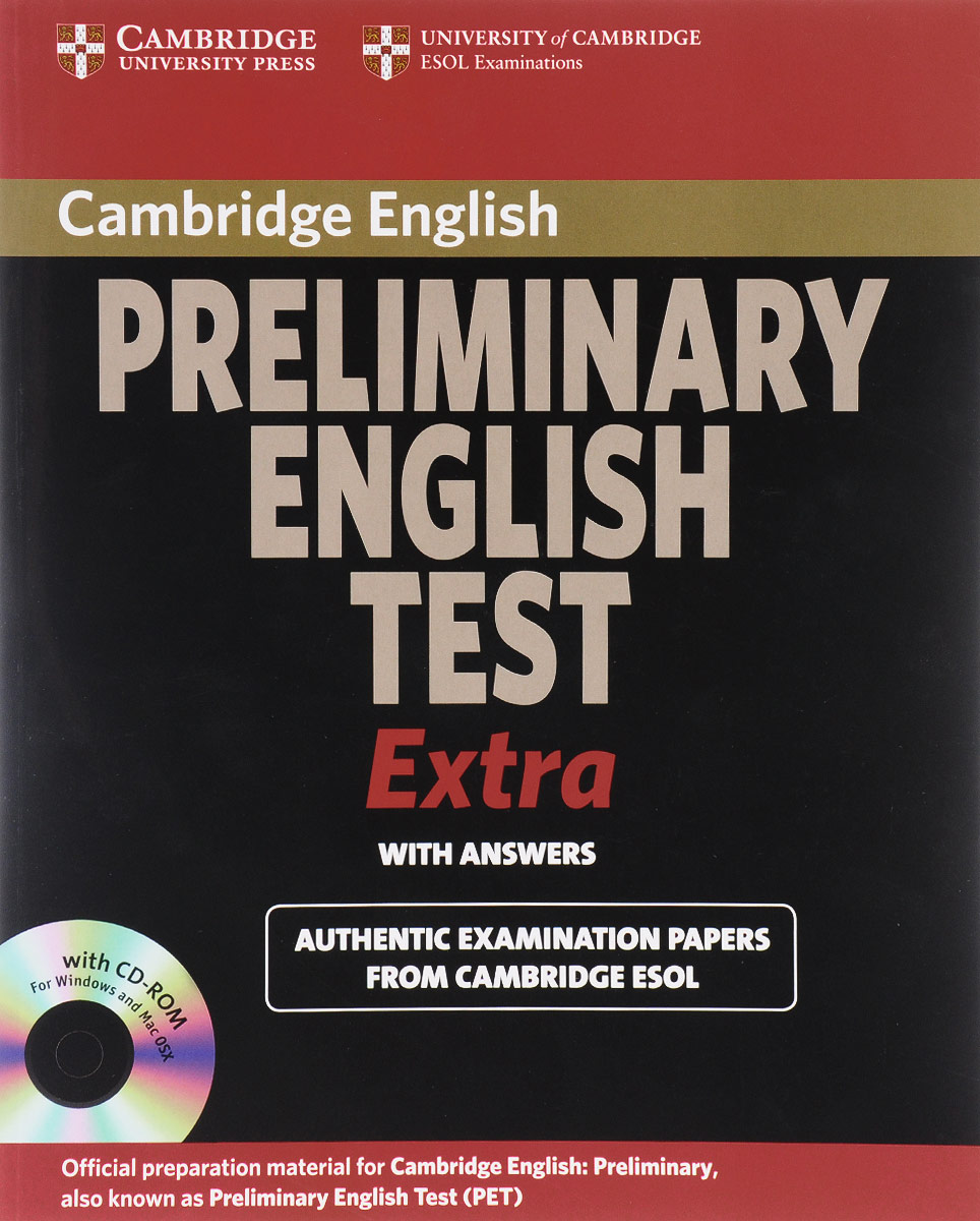 Preliminary English Test Extra With Answers (+ CD-ROM) objective first 4 edition student s book without answers cd rom