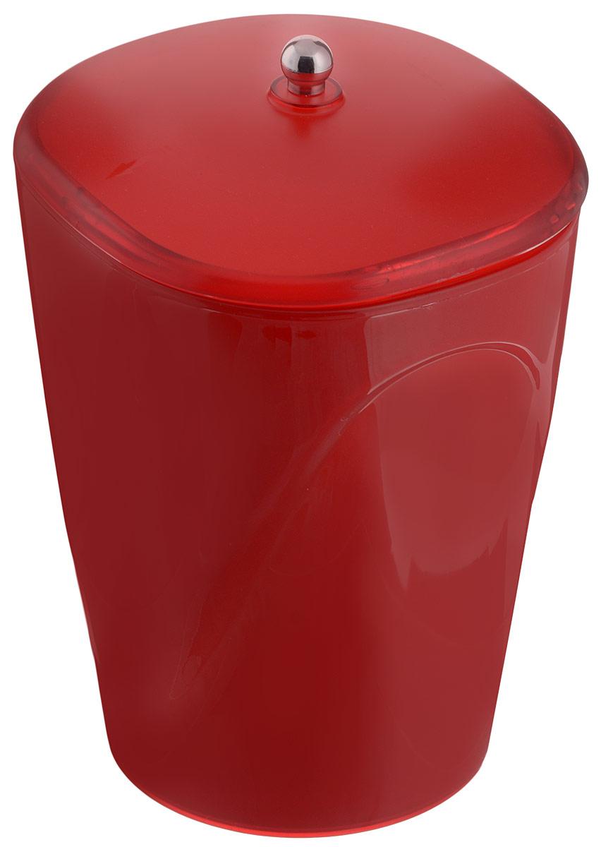 Ведро для мусора Indecor, с крышкой, цвет: красный, 5 лIND032rГлянцевое ведро для мусора Indecor, выполненное из высококачественного износостойкого пластика, оснащено крышкой. Ведро подходит для использования в ванной комнате или на кухне. Стильный дизайн и яркая расцветка прекрасно подойдет для любого интерьера ванной комнаты или кухни. Размер ведра: 20 х 20 х 26,5 см.Объем ведра: 5 л.